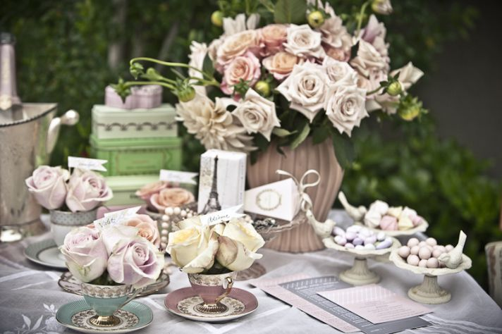 Vintage Wedding On A Budget Tablecenterpiece Ideas